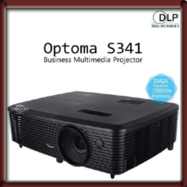 Optima Multimedia Projector- S341 DLP