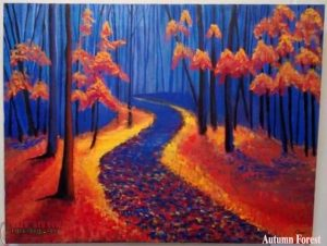 CharuKaru Painting-Autumn Forest