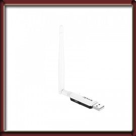Tenda U1 300 Mbps Utral-Fast Wireless USB Adapter