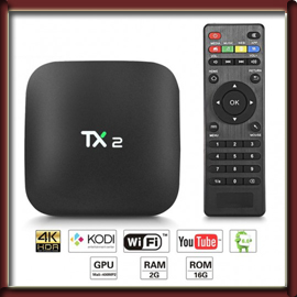 Android TV Box TX2-R2 with 2GB RAM &