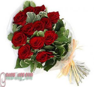Red Rose little bouquet