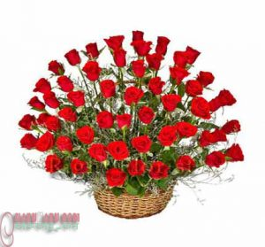 Red Rose little bouquet.10