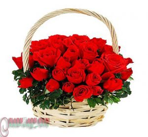 Red Rose little bouquet.12