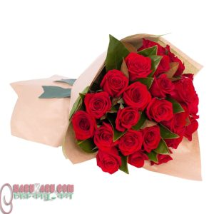 Red Rose little bouquet.6
