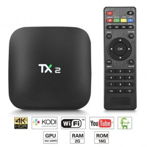 Android TV Box TX2-R2 with 2GB RAM & 16GB ROM, Charukaru.com