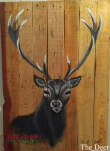 CharuKaru Painting- The Deer