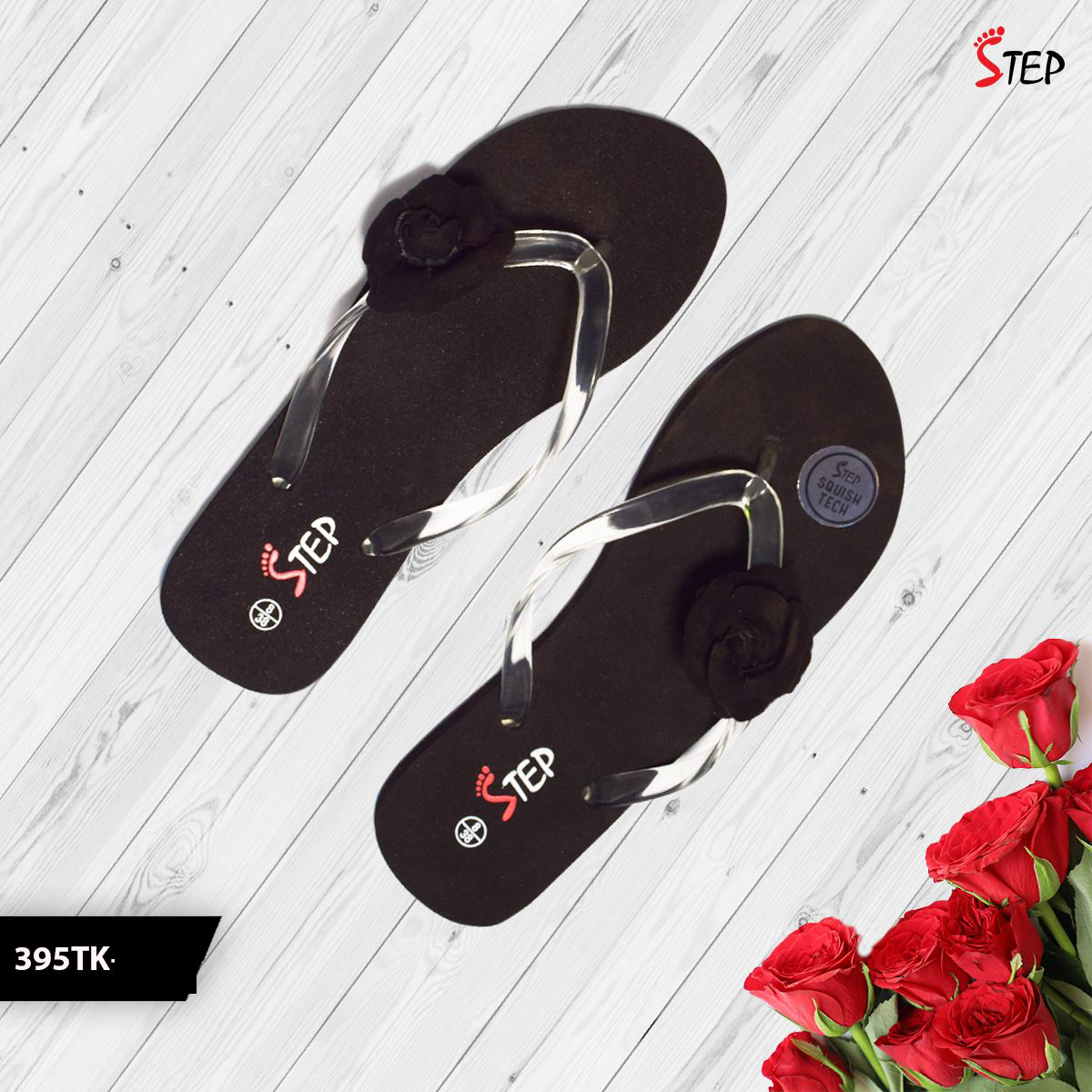 """Exclusive Ladies Footwear (""""Rosy"""")- Product- LC 2034"""