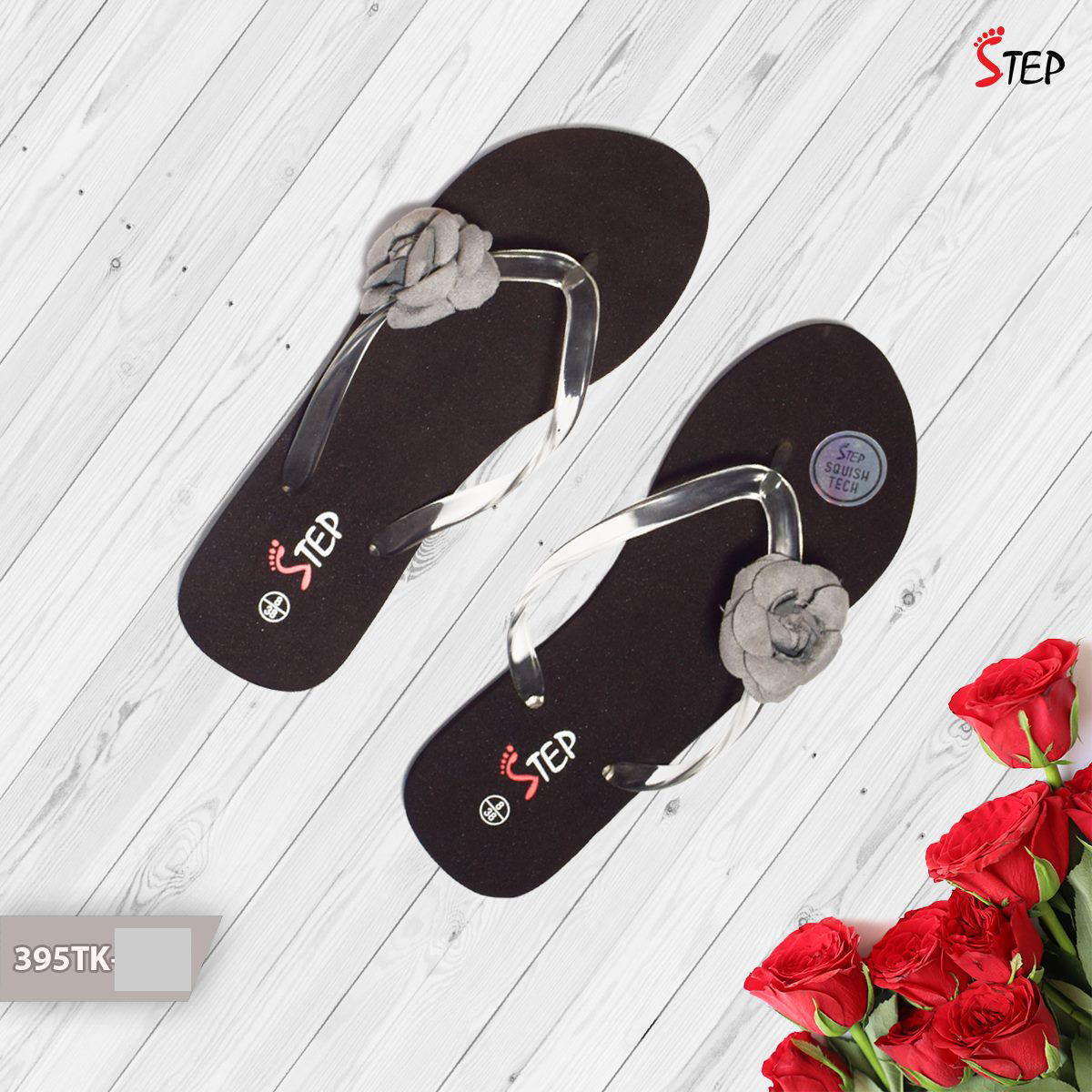 """Exclusive Ladies Footwear (""""Rosy"""")- Product- LC 2036"""