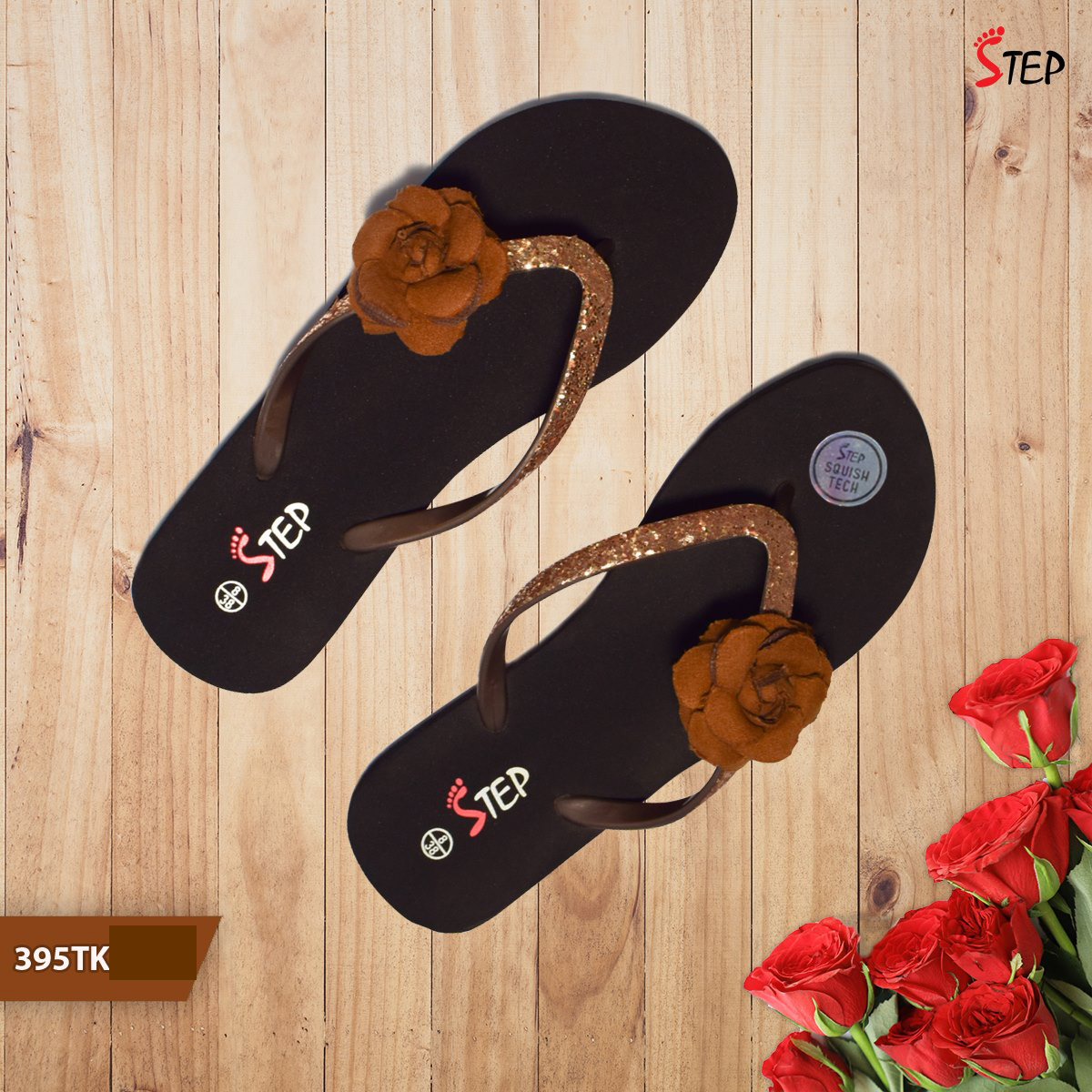 """Exclusive Ladies Footwear (""""Rosy"""")- Product- LC 2040"""