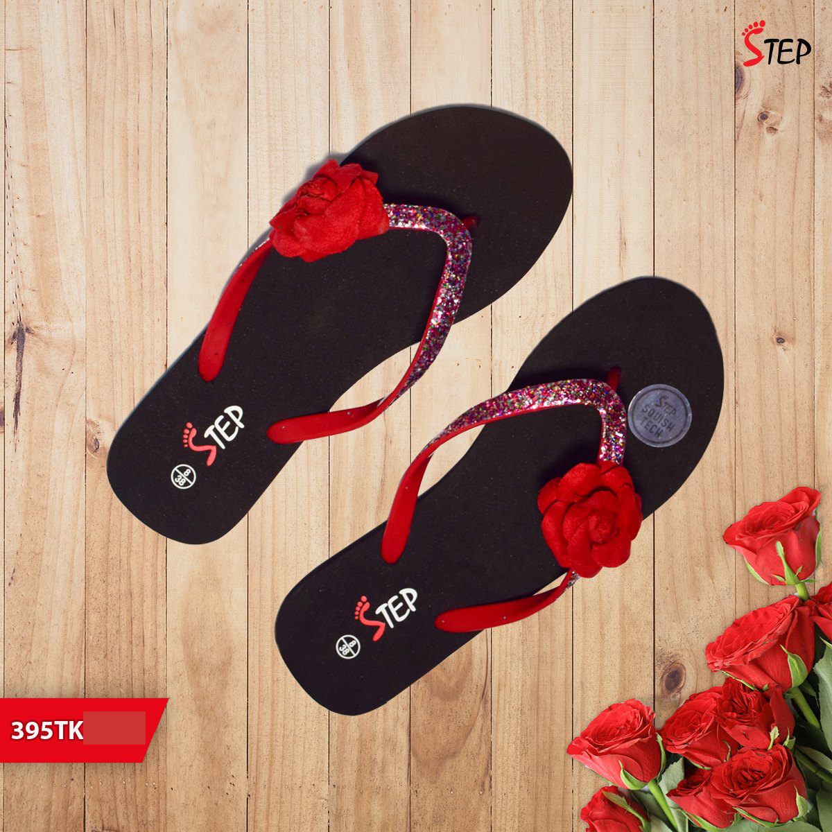 "Exclusive Ladies Footwear (""Rosy"")- Product- LC 2041"