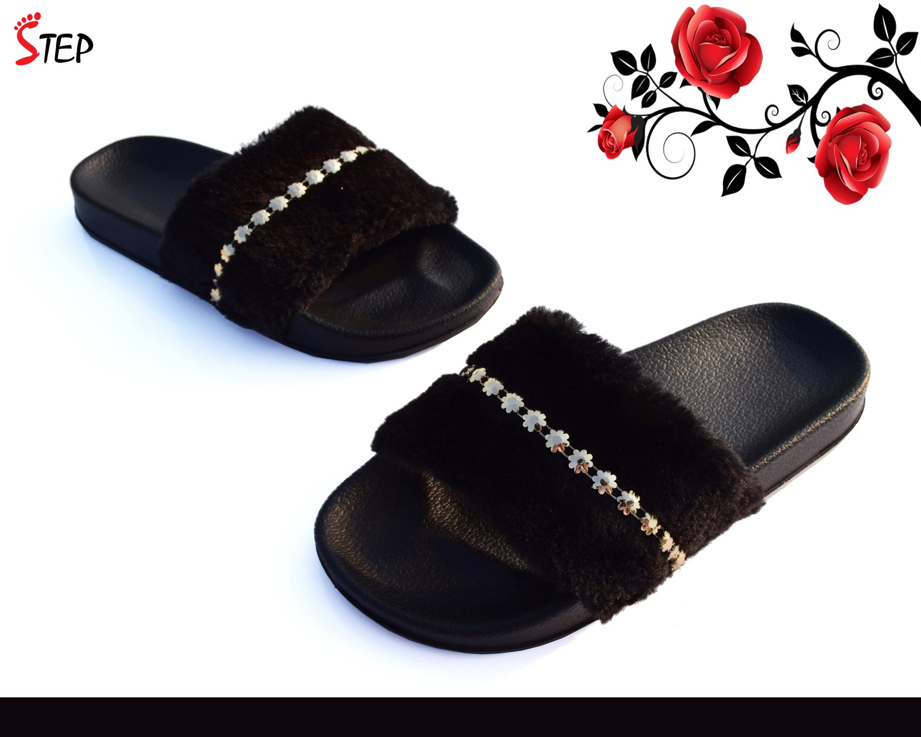 Exclusive Ladies Footwear (''FLUFFY'')- Product- LC 2080