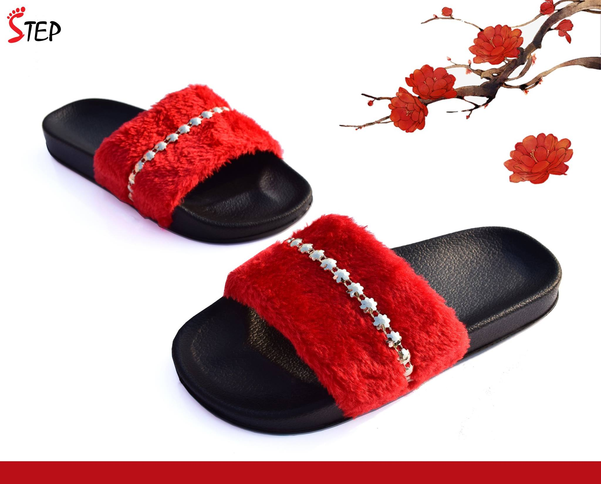 Exclusive Ladies Footwear (''FLUFFY'')- Product- LC 2079