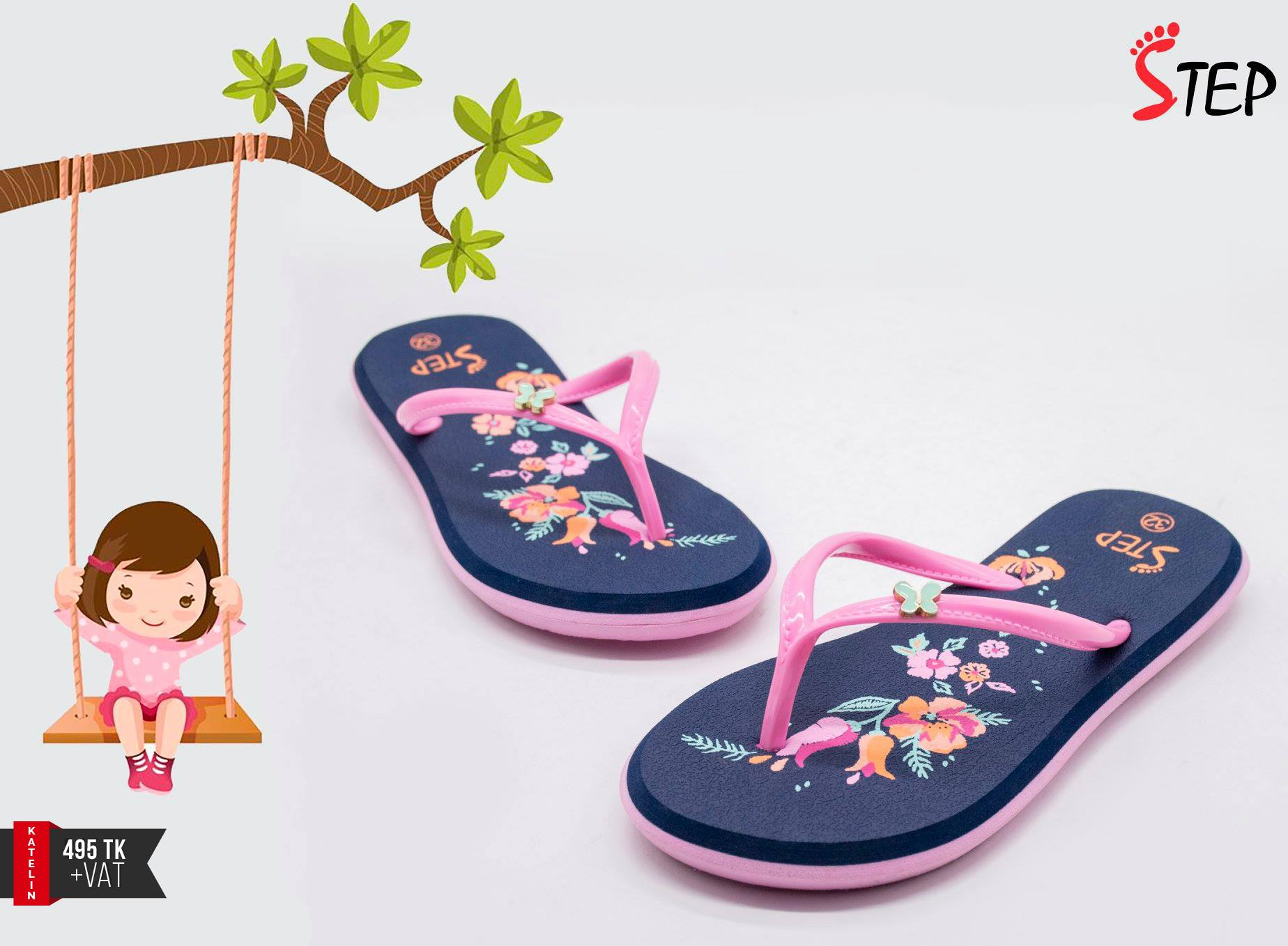 "Kids Footwear (""Katelin"")- Product- KC 023"